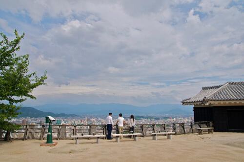 13松山城展望
