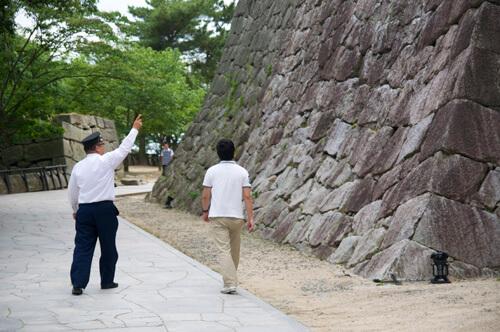 11松山城城壁