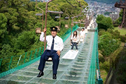 10松山城リフト